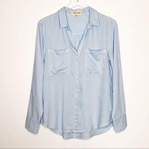 Cloth & Stone | Light Blue Button Down Size Small